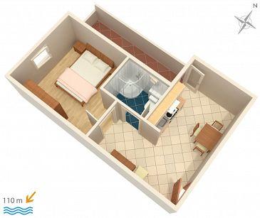 Apartment A-3193-m - Apartments Tučepi (Makarska) - 3193