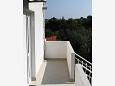 Rogač, Balcony 2 u smještaju tipa room, s pogledom na more.
