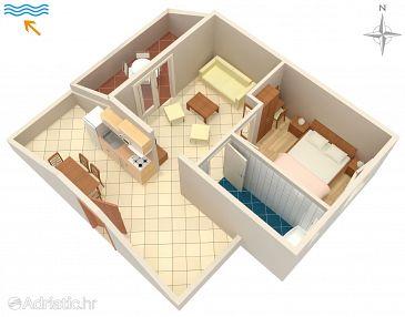 Apartment A-3213-j - Apartments Kampor (Rab) - 3213
