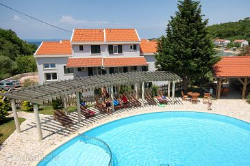 Property Kampor (Rab) - Accommodation 3213 - Apartments near sea.