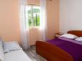 Bedroom 1 - House K-322 - Vacation Rentals Uvala Zuborovica (Pašman) - 322