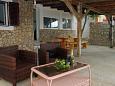 Terrace - House K-322 - Vacation Rentals Uvala Zuborovica (Pašman) - 322