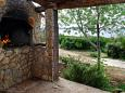 Courtyard Uvala Zuborovica (Pašman) - Accommodation 322 - Vacation Rentals near sea with sandy beach.