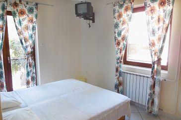 Petrčane, Bedroom u smještaju tipa room, dostupna klima, dopusteni kucni ljubimci i WIFI.