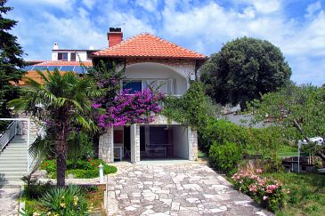 Property Pješčana Uvala (Pula) - Accommodation 3340 - Vacation Rentals with pebble beach.