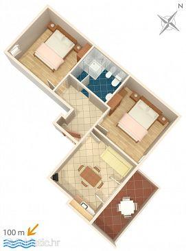 Apartment A-3349-b - Apartments Novigrad (Novigrad) - 3349