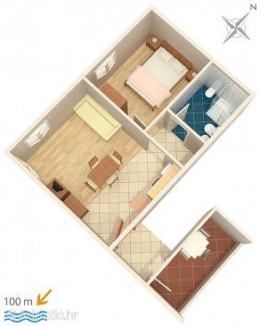 Apartment A-3349-c - Apartments Novigrad (Novigrad) - 3349