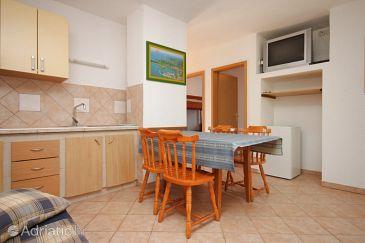 Dajla, Dining room u smještaju tipa apartment, dostupna klima, dopusteni kucni ljubimci i WIFI.