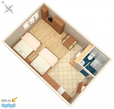 Studio flat AS-3378-a - Apartments Pula (Pula) - 3378