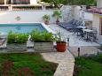 Courtyard Vozilići (Labin) - Accommodation 3400 - Vacation Rentals with pebble beach.