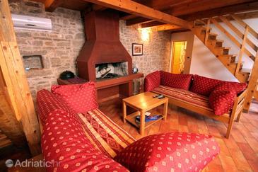 Orihi, Living room 2 u smještaju tipa house, dostupna klima, dopusteni kucni ljubimci i WIFI.