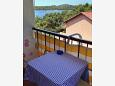 Balcony - Studio flat AS-3444-e - Apartments and Rooms Mali Lošinj (Lošinj) - 3444
