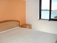 Mala Lamjana, Bedroom u smještaju tipa apartment, WIFI.