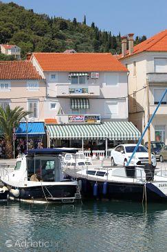 Property Preko (Ugljan) - Accommodation 3489 - Apartments near sea with pebble beach.