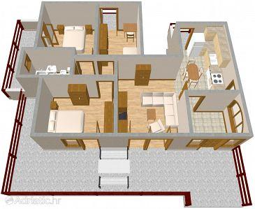 Apartment A-349-a - Apartments Mala Lamjana (Ugljan) - 349