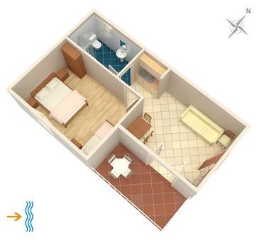 Apartment A-383-a - Apartments Punta križa (Cres) - 383
