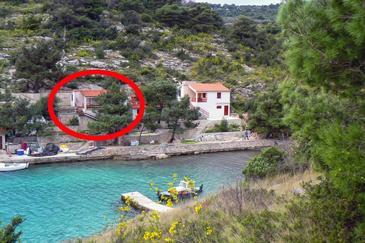 Property Uvala Dumboka (Dugi otok) - Accommodation 395 - Apartments near sea with rocky beach.