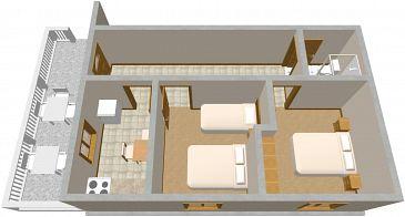 Dom K-399 - Willa Krknata (Dugi otok - Krknata) - 399