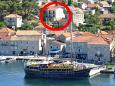 Property Jelsa (Hvar) - Accommodation 4001 - Apartments near sea with pebble beach.