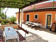 Terrace - Apartment A-4008-a - Apartments Uvala Tvrdni Dolac (Hvar) - 4008