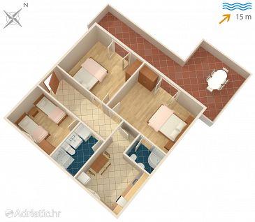 Apartment A-4026-a - Apartments Mudri Dolac (Hvar) - 4026