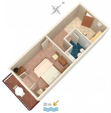 Apartament A-4029-b - Kwatery Sućuraj (Hvar) - 4029
