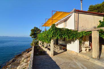 Property Uvala Vela Lučica (Hvar) - Accommodation 4034 - Vacation Rentals near sea.