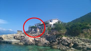 Property Uvala Virak (Hvar) - Accommodation 4035 - Vacation Rentals near sea with pebble beach.