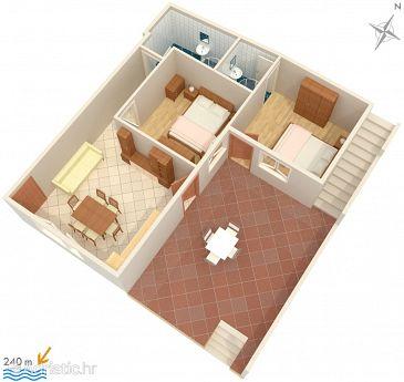 Apartment A-4049-b - Apartments Sveta Nedilja (Hvar) - 4049