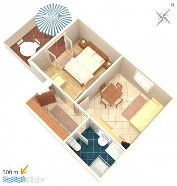 Apartment A-4059-b - Apartments Mandre (Pag) - 4059