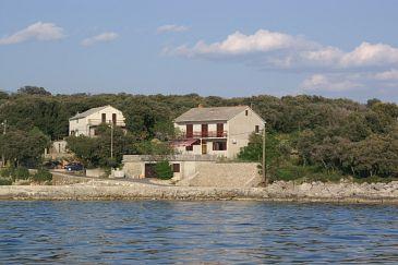 Obiekt Mulobedanj (Pag) - Zakwaterowanie 4061 - Pokoje blisko morza ze żwirową plażą.
