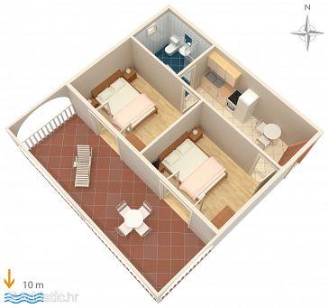 Apartment A-4063-d - Apartments Stara Novalja (Pag) - 4063