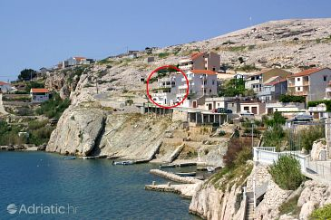 Property Zubovići (Pag) - Accommodation 4065 - Apartments and Rooms near sea with pebble beach.