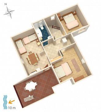 Apartment A-4071-a - Apartments Stara Novalja (Pag) - 4071