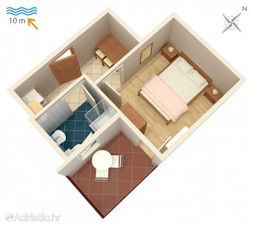 Apartment A-4071-c - Apartments Stara Novalja (Pag) - 4071