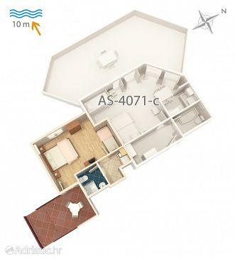Apartment A-4071-d - Apartments Stara Novalja (Pag) - 4071