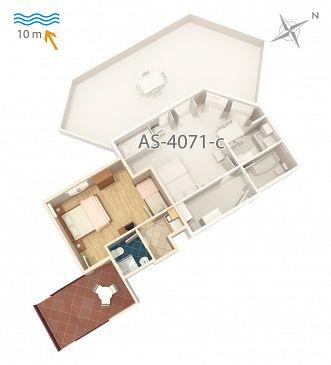 Apartament A-4071-d - Apartamenty Stara Novalja (Pag) - 4071