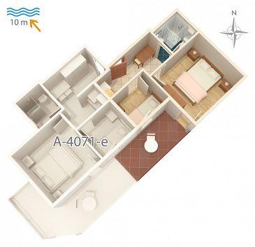 Apartament A-4071-f - Apartamenty Stara Novalja (Pag) - 4071