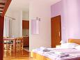 Bedroom - Studio flat AS-4071-a - Apartments Stara Novalja (Pag) - 4071