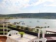 Terrace - view - Studio flat AS-4071-b - Apartments Stara Novalja (Pag) - 4071