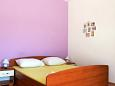 Bedroom - Studio flat AS-4071-c - Apartments Stara Novalja (Pag) - 4071
