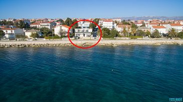 Property Novalja (Pag) - Accommodation 4073 - Apartments near sea with rocky beach.