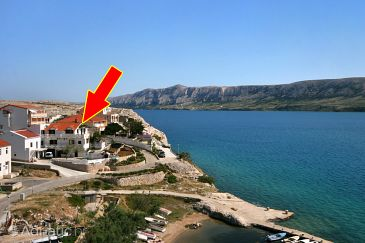 Property Zubovići (Pag) - Accommodation 4082 - Apartments near sea.