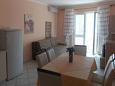 Kustići, Living room u smještaju tipa apartment, dostupna klima i WIFI.