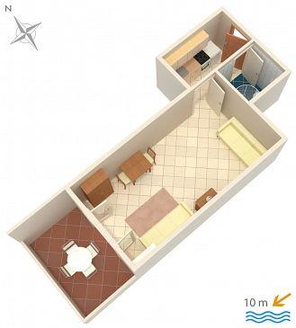 Studio AS-4088-b - Apartamenty Kustići (Pag) - 4088