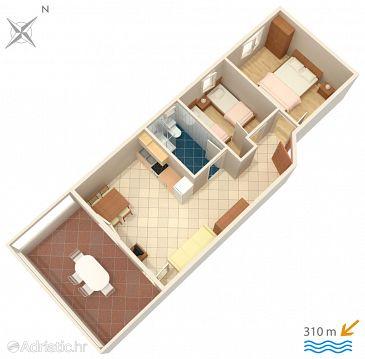 Apartment A-4089-b - Apartments Caska (Pag) - 4089