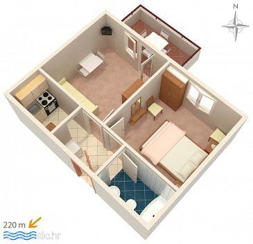 Apartment A-4094-f - Apartments Novalja (Pag) - 4094