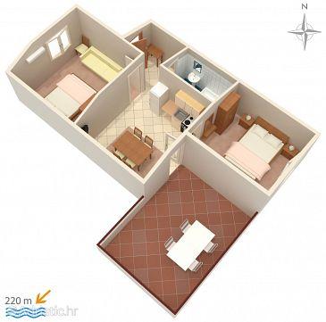 Apartment A-4094-g - Apartments Novalja (Pag) - 4094