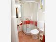 Novalja, Bathroom u smještaju tipa apartment, dopusteni kucni ljubimci i WIFI.