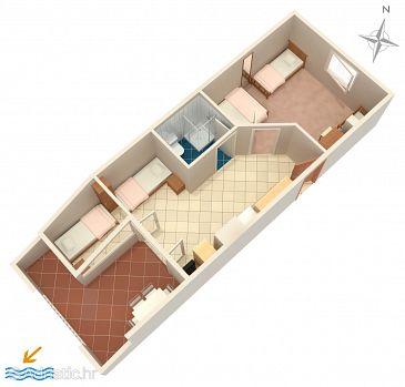 Apartment A-4098-b - Apartments Mandre (Pag) - 4098